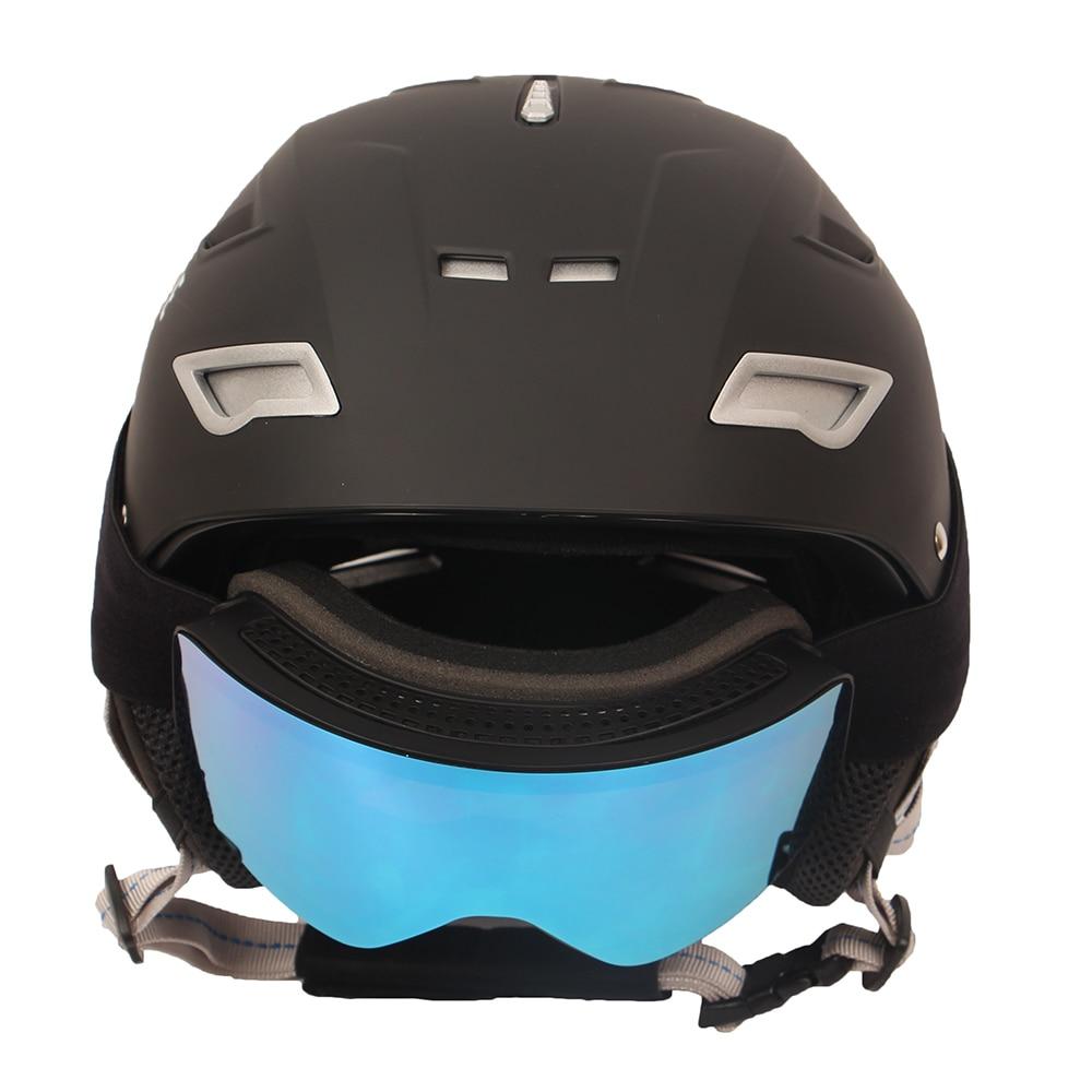 Goexplore Snow Helmet + Ski Goggles for Men Women Child Professional Winter Ultralight Female Snow Skate Snowboard Helmets