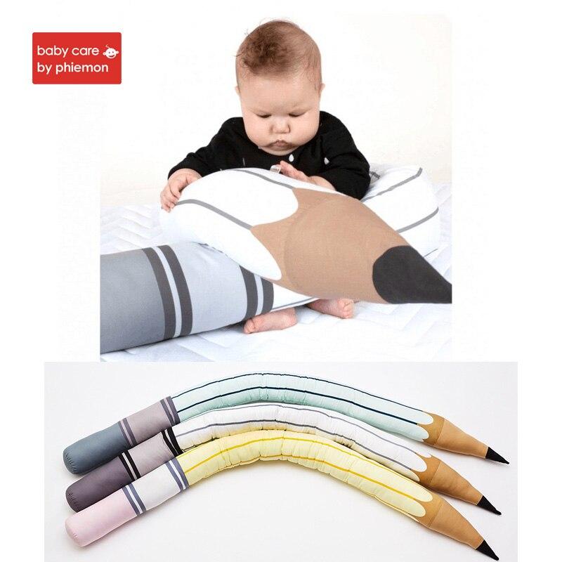 Babycare bébé ensembles de literie bébé berceau pare-chocs protecteur oreiller nouveau-né sécurité lit coussin enfants literie accessoires décor de chambre