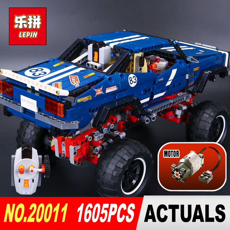 LEPIN 20011 Technic series Super classic limited edition of off-road vehicles Model Building blocks Bricks Compatible Toy 41999 lepin 20011 1605 pcs super classic limited edition of off road vehicles model building blocks bricks compatible toy 41999
