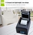 2pcs/lot High Speed POS Thermal Receipt Printer 80mm Auto Cutter USB/Ethernet 300mm/s_DHL