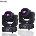 2 piezas Venta caliente Mini Spot 60 W LED de luz de la cabeza con los Gobos de placa y Color de alto brillo 60 W Led Mini luz de la etapa DMX512