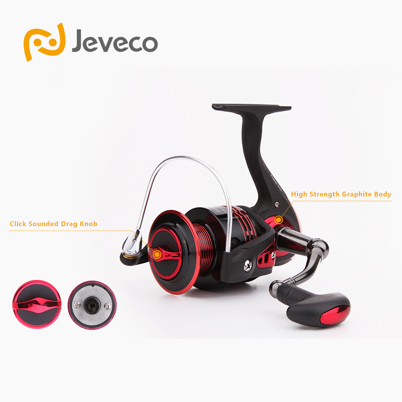 Jeveco FireBall Spinning Angelrolle, Lure Reel Fishing 5.5: 1 6 + - Angeln - Foto 4