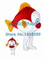 little red clown fish mascot costume adult size quality cartoon sea fish theme anime cosplay costumes carnival fancy dress