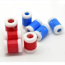 2PCS/lot  Convenient Plastic Crochet Knitting Row Counter Round Stitch Tally Knitter Needle Free Shipping #181