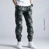 2016 Men Casual Pants New Camouflage Slim Fit Army Camouflage Trousers Pencil Camo Pants Hip Hop