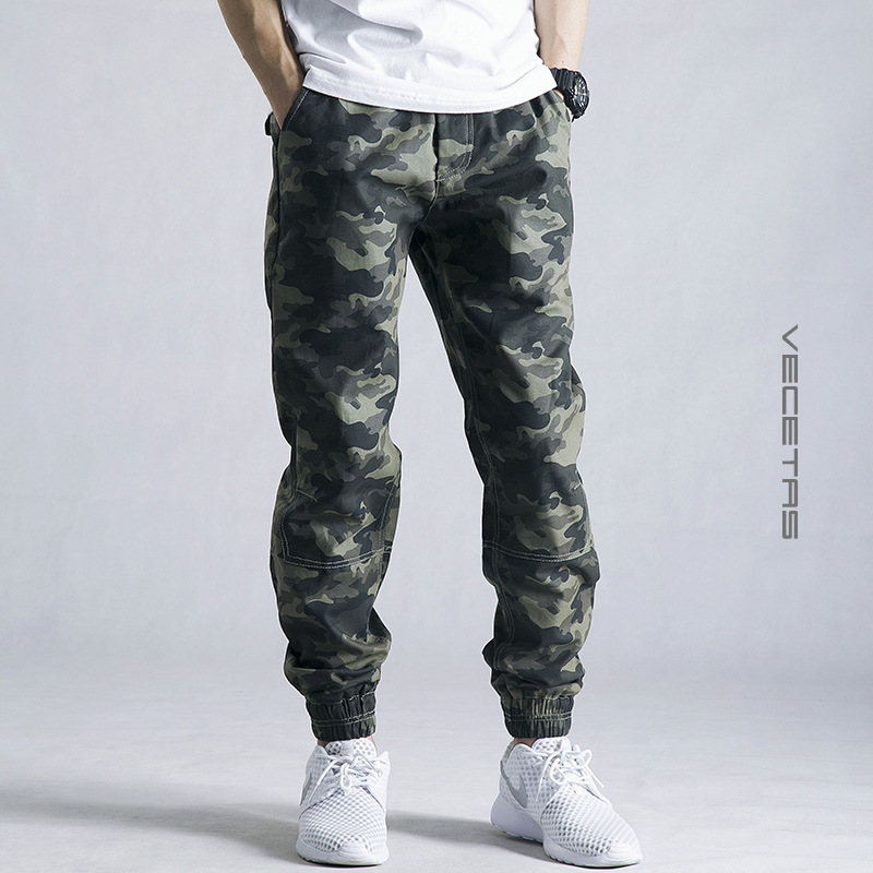Sweatpants Military Mens 2018 Men Casual Pants New Camouflage pantalon homme streetwear Trousers joggers Camo track Pants 28 42