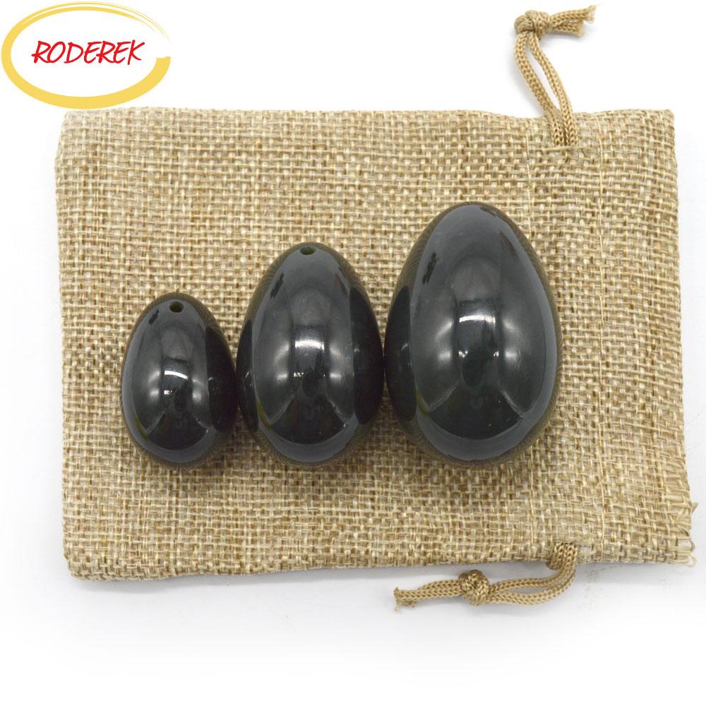 Natural Nephrite Jade Eggs Set Jade Yoni Egg Massager Vaginal Pelvic Floor Stone Massage Health Care Tool