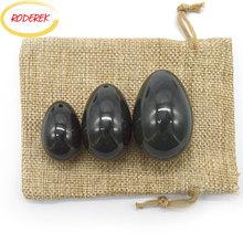 лучшая цена Natural Nephrite Jade Eggs Set Jade Yoni Egg Massager Vaginal Pelvic Floor Stone Massage Health Care Tool