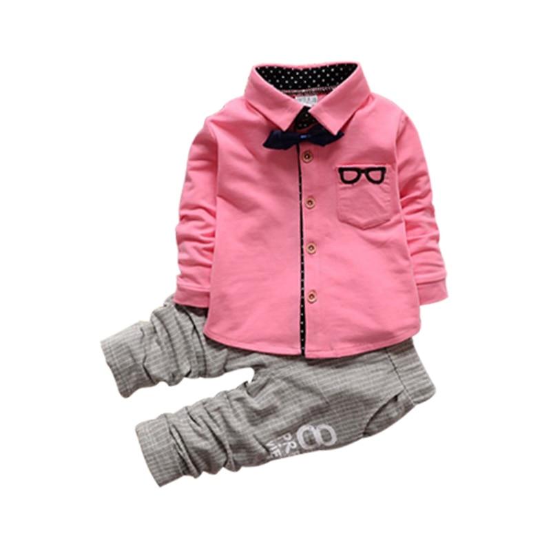 2017 Fashion Toddler Baby Boys primavera signore set di abbigliamento - Vestiti per bambini