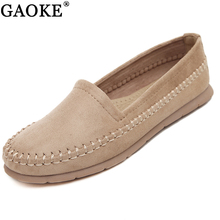 Women Loafers Shoes Round Toe For Woman Casual Soft Flats Ladies Driving Shoe Slip-on Shoes Moccasins