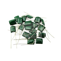 Bulk Sale 50Pcs Green Polyester Film Capacitors 2A683J DC100V 68nF 0.068uF 5%