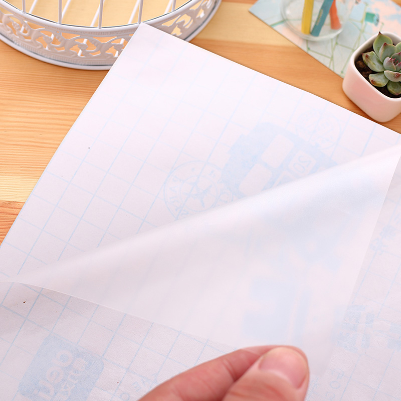 10Sheets 45x30cm B5 Transparent Clear Book Cover Sticky Film School Book Protector Wrapping Cloth Company Brochure Office 8656