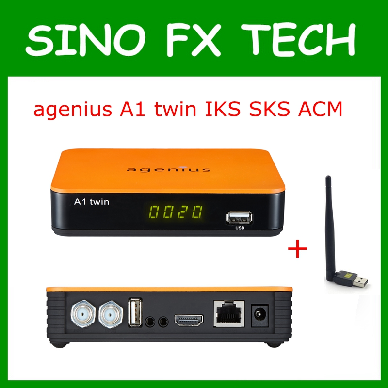 agenius A1 twin IKS SKS ACM NEWCAM CCCAM Vod H.265 USB wifi for South America Nagra 3 update from tocomfree S929 ACM цена