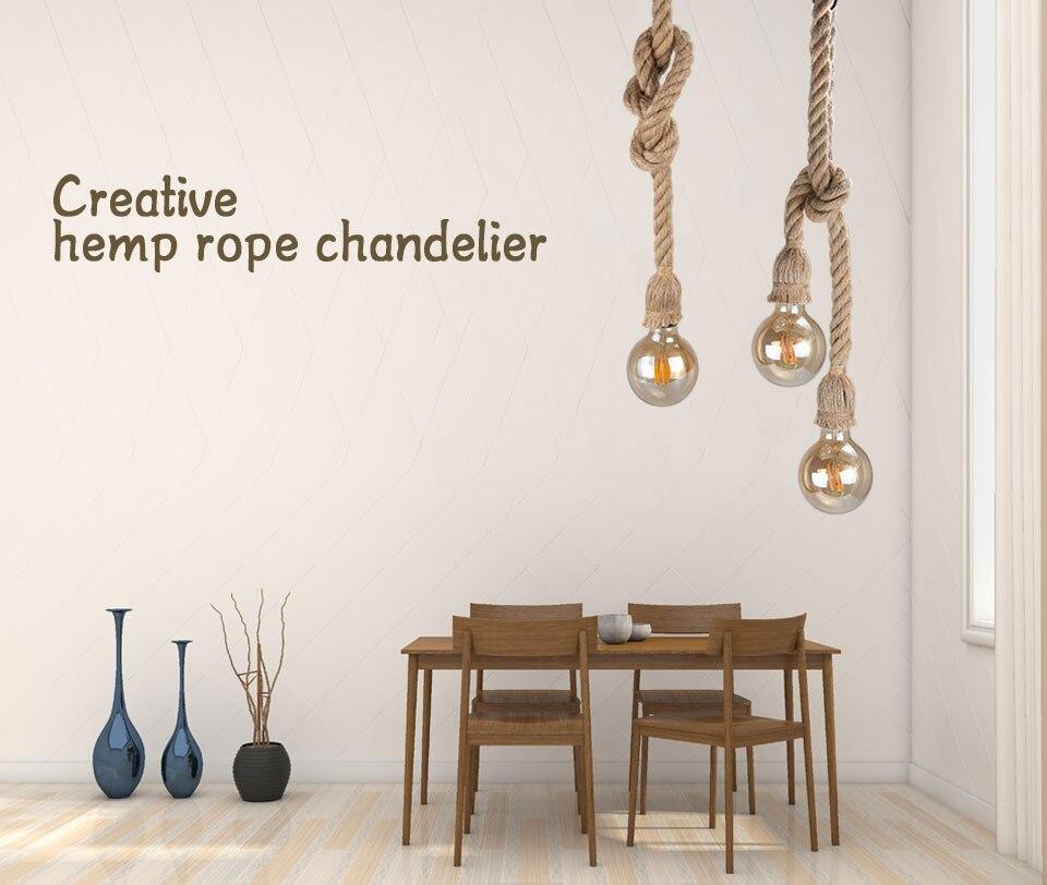 hemp rope pandent light (1)