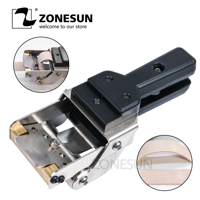 ZONEUN Leather Splitter Skiving Machine Peeling Machine Paring 