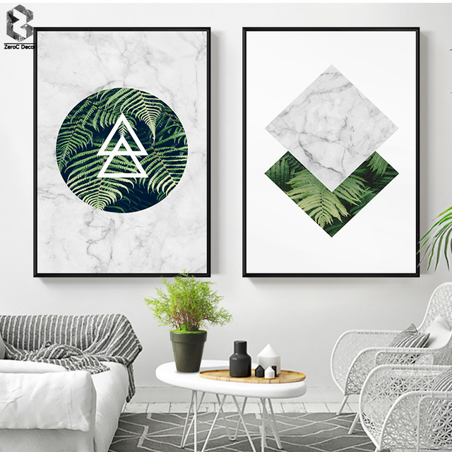 Modern Marble Wall Art Posters And Prints Nordic Canvas Painting For Living Room Decoration Scandinavian Decor Artwork