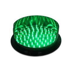 DC12V precio al por mayor impermeable 300mm verde LED módulo de semáforo para la promoción
