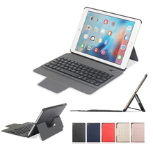 For iPad 9.7 2017 2018 Pro 9.7 Pro 10.5 Air 1 2 Case Wireless Bluetooth Keyboard Cover for iPad Mini Slim Smart Protective Skin detachable keyboard case smart cover for ipad 9 7 2017 2018 pro air 2 1 3 in 1 functionality keyboard with protective case a30