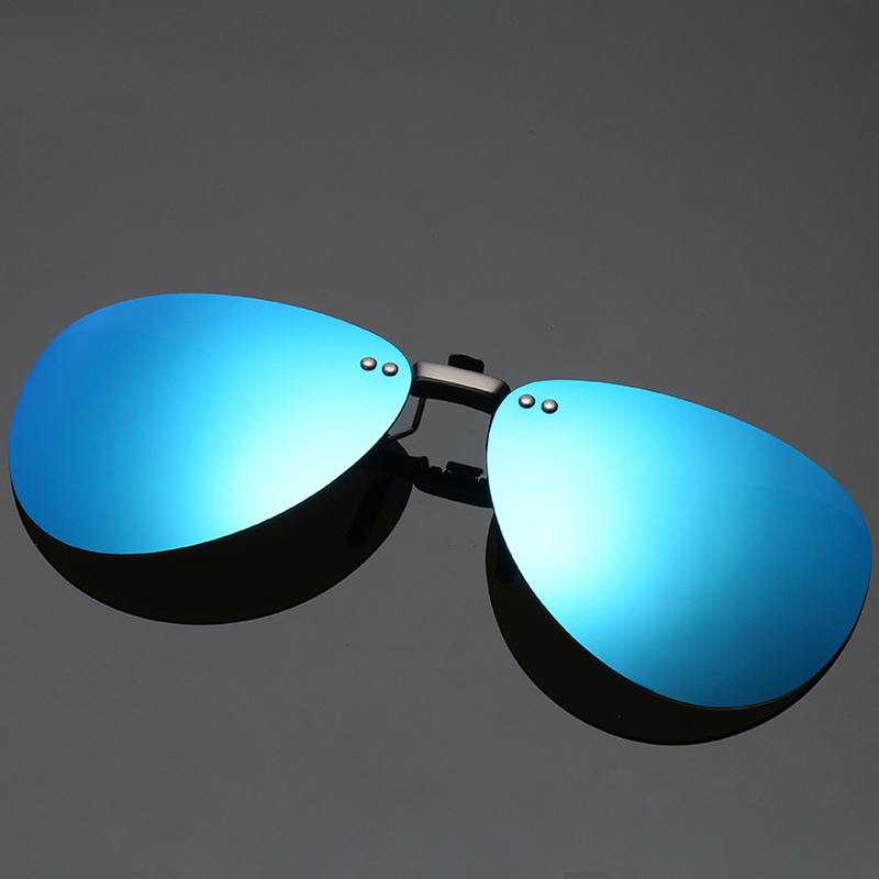 Alumínio e Magnésio Óculos de Sol Óculos de Condução Óculos de Sol de Alumínio Opcional de Viagem de Pesca Clipe Polarizada Clássicos de Material Multicolor
