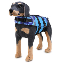 Venxuis Summer Pet Dog Swimwear Vest Life Jacket For Dogs Labrador Dogs Jackets Clothing Safety Pet Swimsuit Pet Dog Coats
