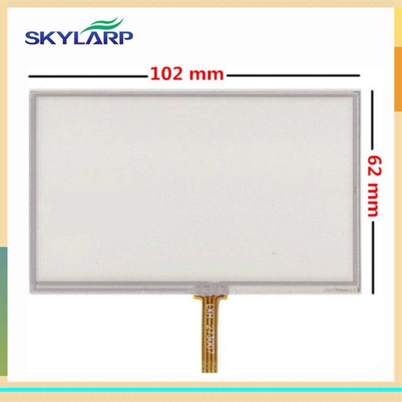 skylarpu 10pcs/lot New Touch screen panels for GARMIN Nuvi 2445LM 2445LMT GPS Touchscreen digitizer panel replacement мясорубка supra mgs 1402t 1400 вт белый