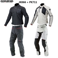 Free shipping 1Set Motorbike Motocross Off Road Suit Waterproof Liner CE Armour Racing Rider Motorcycle Jacket and Pants