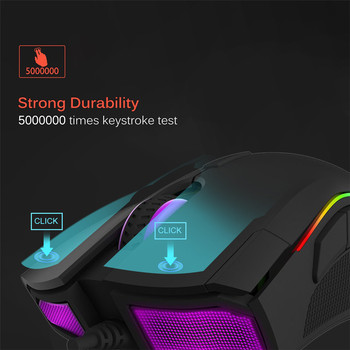 Delux-M625-Gaming-Mouse-USB-Wired-Mouse-7-Buttons-12000DPI-12000FPS-Optical-USB-Wired-Desktop-Mice-RGB-Backlit-For-game-player-1