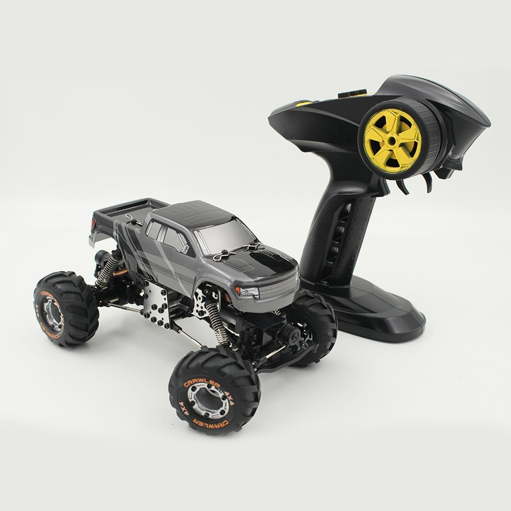 HBX 2098B 1/12 2.4GHz 4-wheel Drive Devastator Rock Crawler Off-Road High Speed Climber RC Car Toy for Children high speed climber rc racing car toys 1 12 2 4ghz 4 wheel drive devastator rock crawler off road rc car toy gift for children