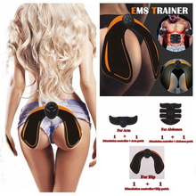 Electric EMS Intelligent Hip Trainer Buttock Lifting Muscle Stimulator ABS ems Tighter body slimming