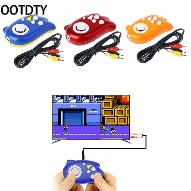 OOTDTY Games Accessories Mini Video Gaming For Console 8 Bit Built-In 89 Classic Games TV Output Game Player