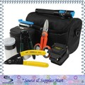Free Shipping 18 In 1 FTTH Fiber Optic Tool Kit with SKL-6C Fiber Cleaver and Kevlar Scissors Shears and Fiber Cable Strippers