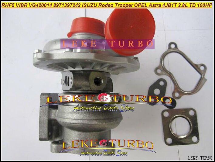 Turbo RHF5 VIBR 8971397243 8971397242 8971397241 VC420014 VD420014 For ISUZU Rodeo Trooper For OPEL Astra 4JB1T 4JB1-T 4JB1 2.8L двигатель 4jb1t isuzu elf
