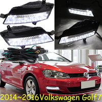 2014 2016 VW Golf7 Daytime Light Free Ship LED VW Golf7 Fog Light 2ps Set VW