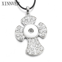 Buy interchangeable necklace pendants and get free shipping on religion cross 18mm xinnver snap button jewelry aloadofball Images