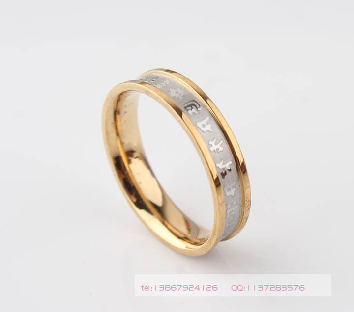 Never fade 316L Titanium Stainless Steel Rotating Blessing Ring, Power Lucky Om Mani Padme Hum Sanskrit Mantra Style Ring