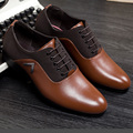2016 Italian Luxury Designer Formal Mens Dress Shoes Genuine Leather Black Basic Flats For Men Wedding Office Sapato Masculino