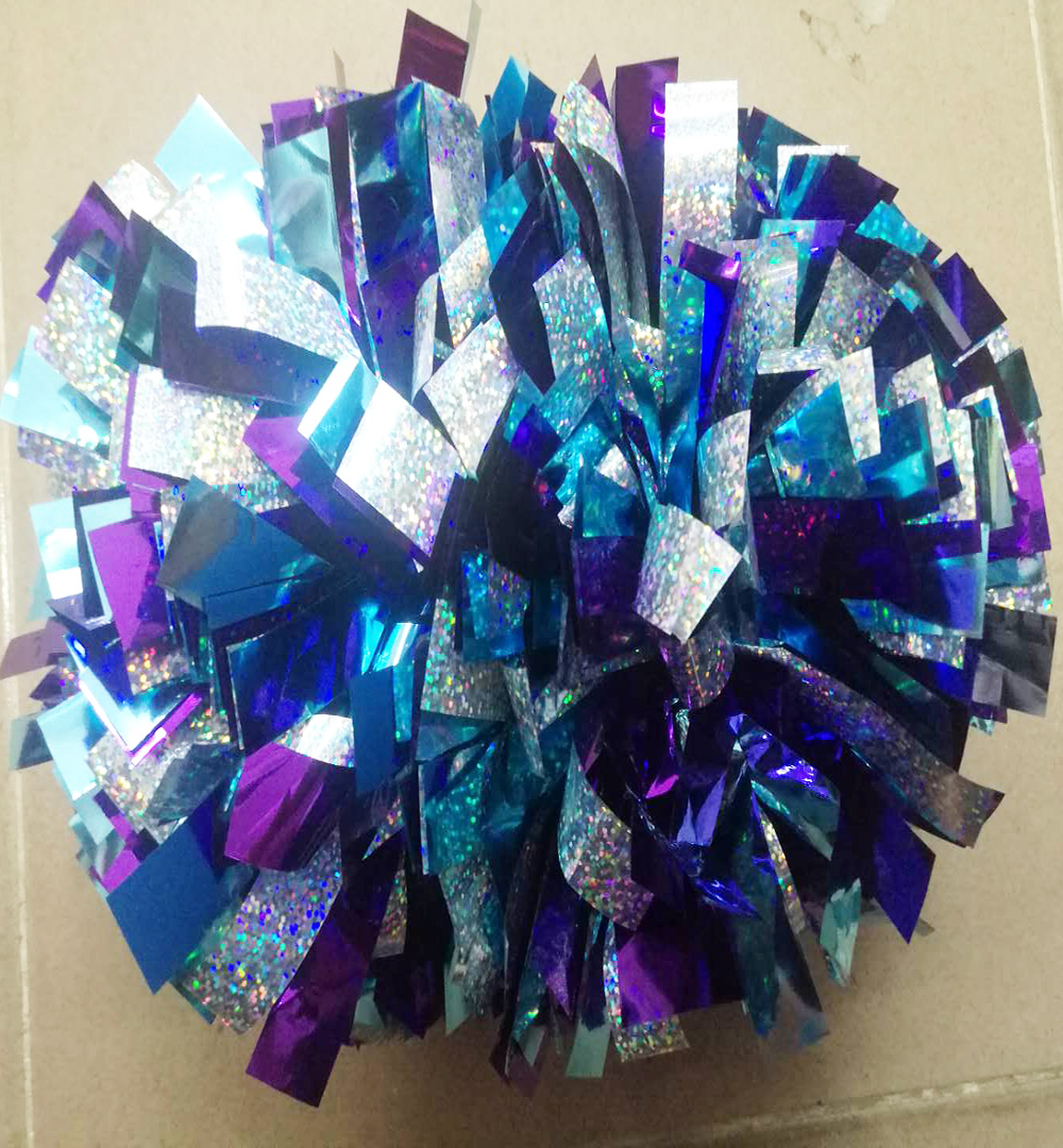 New 1 Piece Cheerleader Pom Poms 6
