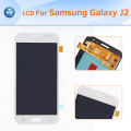 "Original LCD display for Samsung Galaxy J2 J200 LCD screen touch digitizer glass assembly 4.7"" screen gold white blue+tools"