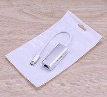USB3.1 Loại C Ethernet Adapter USB C Để RJ45 Lan Mạng Nhà Cáp Mạng Cho Macbook/ASUS/Samsung/Dell