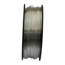 natural color 3d printer filaments PETG 1.75mm/3mm 1kg plastic Rubber Consumables Material MakerBot/RepRap/UP/Mendel