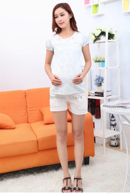 Caliente Al Por Mayor El Envío Libre de Moda de Tela Suave Pantalones Cortos para Mujeres Embarazadas Embarazadas Pantalones Cortos de Maternidad Ropa De Maternidad