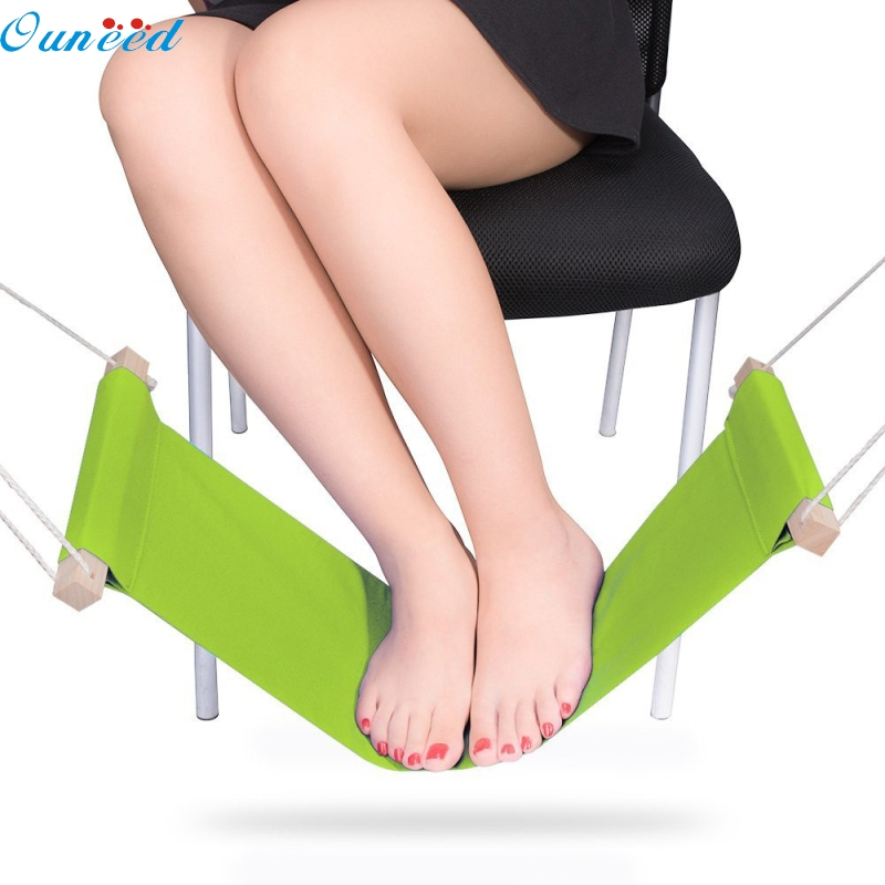 Ouneed Happy Home New Mini Office Foot Rest Stand Desk Feet Hammock 1 Piece раскладушка therm a rest therm a rest luxurylite mesh xl