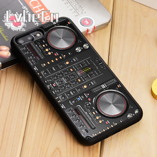 LvheCn DJ Controller Mixer Phone Case Cover For IPhone 5 6 6s 7 8 Plus 11 Pro X XR XS Max Samsung Galaxy S6 S7 Edge S8 S9 S10