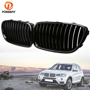 Posbay глянцевый черный Автомобильный Центральный бампер для BMW 5-Series F10 Sedan/F11 Touring 518d/520d/520dX 2010-2016