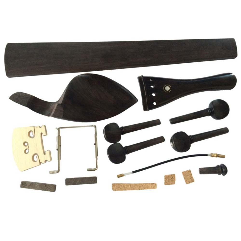 Stringed Instruments Sports & Entertainment Motivated Ostrich 4/4 Violin Parts Chinrest+pegs+tailpiece+bridge+endpin+tailgut+clamp Fingerboard+nut