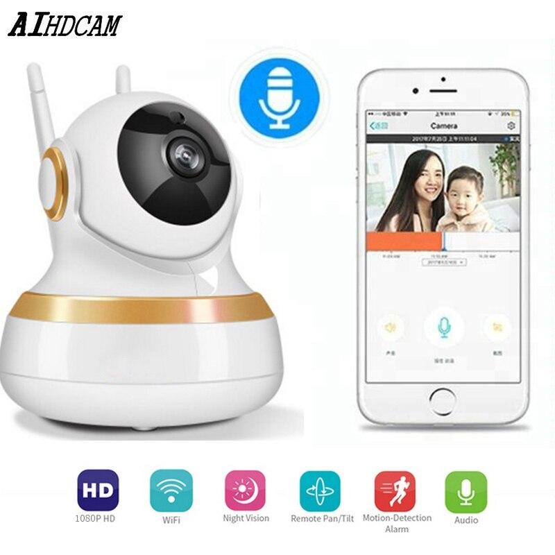 Home Security IP Camera Wireless Smart WiFi Camera WI FI Audio Record Surveillance Baby Monitor HD