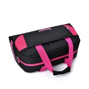 Image 2 - Sıcak spor çantası eğitim spor çantaları erkek kadın spor dayanıklı çok fonksiyonlu el çantaları açık spor kol çantası çantası erkek