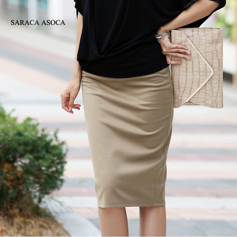 Popular Khaki Pencil Skirt-Buy Cheap Khaki Pencil Skirt lots from ...