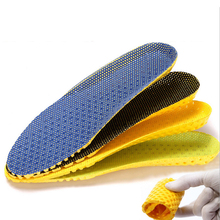 1Pair Stretch Breathable Deodorant Shoe Insoles Running Cushion Height Increasing Insoles Pad Sport Shoe Insert Arch Support цена