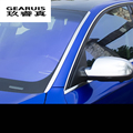 Professional Front Windshield Trim Cover for 2009-16 A4L 2012-16 A6L 2009-16 Q5 2011-16 Q3 Exterior Refit Car styling Sequin